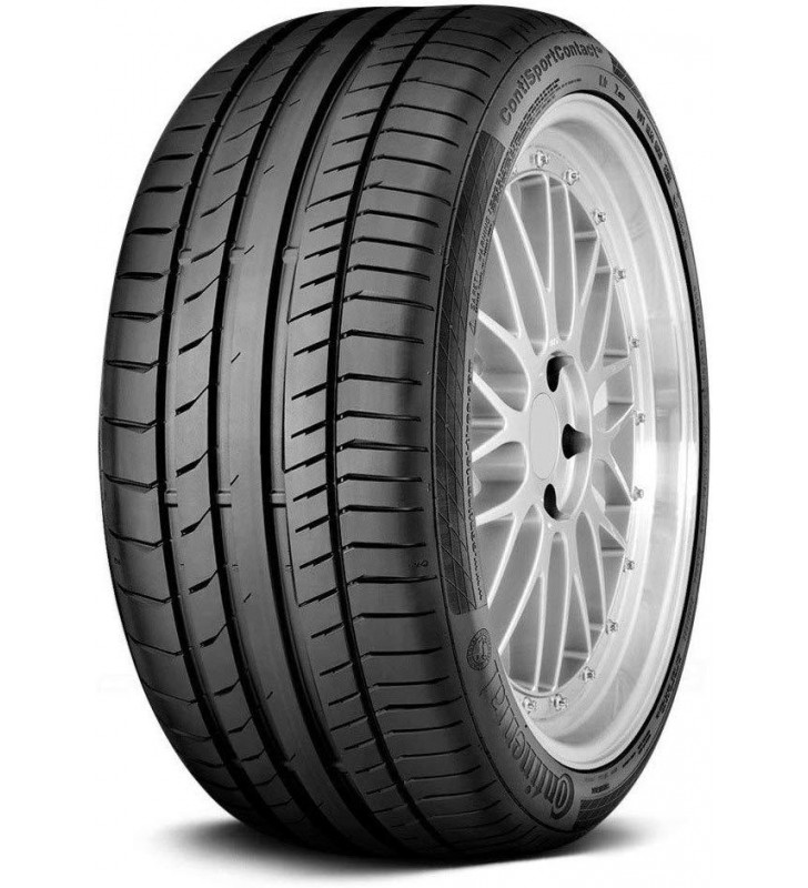 245/50-18 Continental ContiSportContact 5 Summer Performance Tire 280AAA 100W 245 50 18